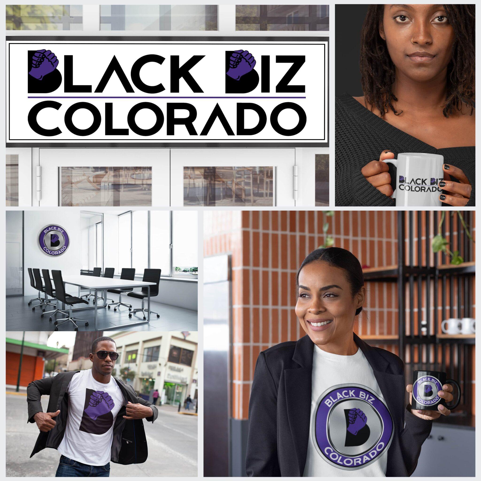 Black Biz Colorado Full Mockup